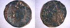 Buy 342-48AD Ancient Roman Imperial Constantius II AE15 2 Victories Facing - SIS