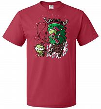 Buy Zime That Stole Christmas Unisex T-Shirt Pop Culture Graphic Tee (S/True Red) Humor F