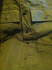 Buy Embroidered Army Green Jacket/Shirt Men`s XL Button Down Retail: 199.00