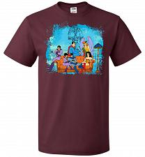Buy Super Friends Unisex T-Shirt Pop Culture Graphic Tee (3XL/Maroon) Humor Funny Nerdy G