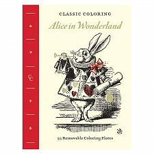 Buy :10952U - Alice In Wonderland Adult Coloring Book