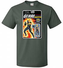 Buy GI KAI Unisex T-Shirt Pop Culture Graphic Tee (L/Forest Green) Humor Funny Nerdy Geek