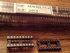 Buy Lot of 52: Assmann AR18-HZL-TT-R 18 POS IC DIP SOCKET