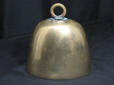 Buy Vintage Brass COWBELL Bell Large Cow Bell Goat School Farm Store