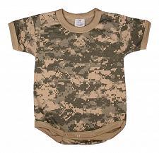 Buy One Piece ACU Digital Camo Army Law Enforcement Military Infant Bodysuit