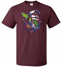 Buy Epic Green Dragon Unisex T-Shirt Pop Culture Graphic Tee (S/Maroon) Humor Funny Nerdy