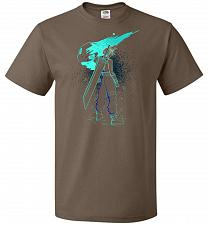 Buy Shadow Of The Meteor Unisex T-Shirt Pop Culture Graphic Tee (3XL/Chocolate) Humor Fun