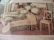 Buy J C Penney Home Queen Bedspread CASSANDRA & 2 Matching Standard Shams NIP