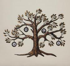 Buy *17181U - Family Tree Round Photo Wall Decor