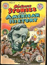 Buy Picture Stories from American History #4 EC COMICS 1947 Fair 1st print & series