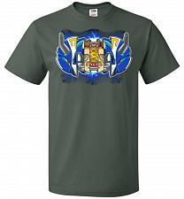 Buy Blue Ranger Unisex T-Shirt Pop Culture Graphic Tee (XL/Forest Green) Humor Funny Nerd