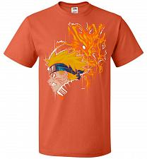 Buy Demon Fox Unisex T-Shirt Pop Culture Graphic Tee (M/Burnt Orange) Humor Funny Nerdy G