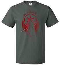 Buy Shadow Of The Empire Unisex T-Shirt Pop Culture Graphic Tee (2XL/Forest Green) Humor
