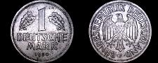 Buy 1950-F German 1 Mark World Coin - Germany