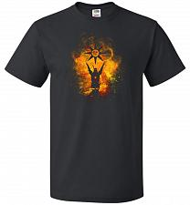 Buy Praise The Sun Art Unisex T-Shirt Pop Culture Graphic Tee (XL/Black) Humor Funny Nerd