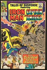 Buy TALES OF SUSPENSE #72 IronMan Capt. America The Sleeper Shall Awaken Kirby Tuska