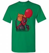Buy IT is Deadpool Unisex T-Shirt Pop Culture Graphic Tee (XL/Turf Green) Humor Funny Ner