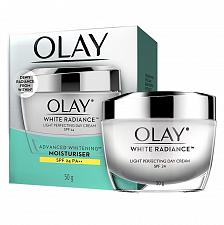 Buy Olay White Radiance Light Perfecting Day Cream SPF 24 50 grams