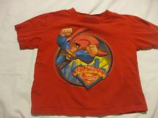 Buy Superman Red T-Shirt Size 3 100% cotton George