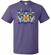 Buy Green Ranger Unisex T-Shirt Pop Culture Graphic Tee (4XL/Purple) Humor Funny Nerdy Ge