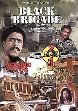 Buy 2movie DVD Black Brigade,The Three Muscatels Richard PRYOR Billy Dee WILLIAMS