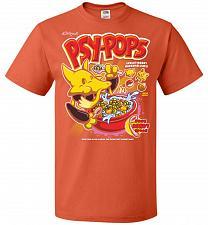 Buy Alakagam's Psy-Pops Unisex T-Shirt Pop Culture Graphic Tee (S/Burnt Orange) Humor Fun