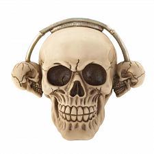 Buy *17292U - Rockin' Headphone Skull Skeleton Head Figure
