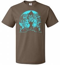 Buy Saiyan Sized Secret Unisex T-Shirt Pop Culture Graphic Tee (5XL/Chocolate) Humor Funn