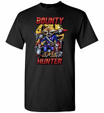 Buy Bounty Hunter Rocket Raccoon Unisex T-Shirt Pop Culture Graphic Tee (L/Black) Humor F