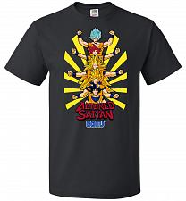 Buy Altered Saiyan Unisex T-Shirt Pop Culture Graphic Tee (6XL/Black) Humor Funny Nerdy G