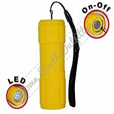 Buy Waterproof Shock Resistant 7 LED Flashlight Yellow