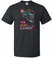 Buy Retro Star Lord Unisex T-Shirt Pop Culture Graphic Tee (L/Black) Humor Funny Nerdy Ge