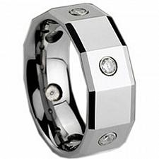 Buy coi Jewelry Tungsten Carbide Ring - TG158(Size:US7.5)