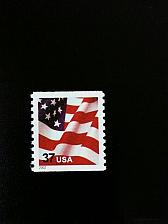 Buy 2002 37c American Flag, Coil, WA Scott 3631 Mint F/VF NH