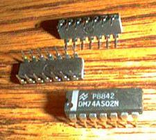 Buy Lot of 12: National Semiconductor DM74AS02N