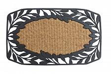 Buy *17942U - Vine Leaves Rubber & Coir Welcome Door Mat