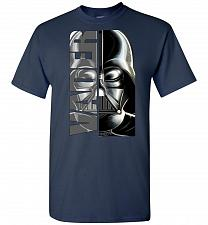 Buy Vader Unisex T-Shirt Pop Culture Graphic Tee (4XL/Navy) Humor Funny Nerdy Geeky Shirt