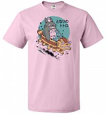 Buy The Neighbor's Antics Unisex T-Shirt Pop Culture Graphic Tee (S/Classic Pink) Humor F