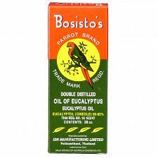 Buy Bosisto's Parrot Brand Double Distilled 100% Eucalyptus Oil 28ml