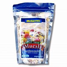 Buy McGarrett Multi Fruit Muesli 500 grams