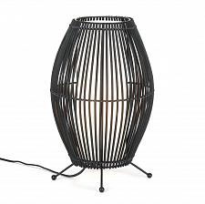 Buy *15521U - Metal Slat Black Convex Framework Table Lamp