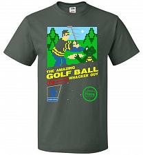 Buy Happy Golf Nintendo Parody Cover Adult Unisex T-Shirt Pop Culture Graphic Tee (2XL/Fo