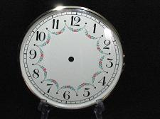 Buy Clock Face Mantle Grandfather Wall Repair West Germany Glass Bevel 17 Vintage
