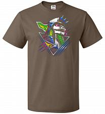 Buy Epic Green Dragon Unisex T-Shirt Pop Culture Graphic Tee (4XL/Chocolate) Humor Funny