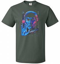 Buy Live Long And Prosper Unisex T-Shirt Pop Culture Graphic Tee (S/Forest Green) Humor F