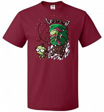 Buy Zime That Stole Christmas Unisex T-Shirt Pop Culture Graphic Tee (4XL/Cardinal) Humor