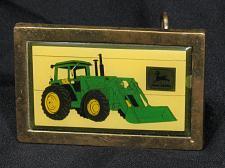 Buy RARE John Deere Belt Buckle Canadian Farm Progress Show Tractor & Loader Vintage