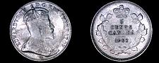 Buy 1902 Canada 5 Cent World Silver Coin - Canada - Edward VII - Lot#9900