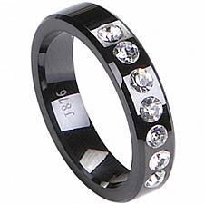 Buy coi Jewelry Black Titanium Wedding Band Ring - TG2259(Size US6)