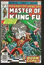 Buy Master of Kung Fu #60 VF Marvel Comics DOCTOR DOOM Moench / Zeck
